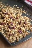 Cranberry Granola Stock Images