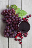 Cranberry Grape Juice Royalty Free Stock Image
