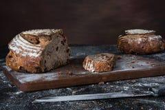 Cranberry i Pecan chlebowe rolki Zdjęcie Royalty Free