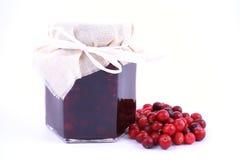 Cranberry jam stock photos