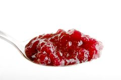 Cranberry Jam Stock Images
