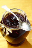 Cranberry jam Royalty Free Stock Images