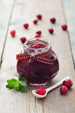 Cranberry jam Royalty Free Stock Image