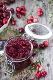 Cranberry Jam stock photo