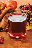 Cranberry juice with apple Royalty Free Stock Photography