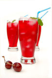 Cranberry juice cocktail Royalty Free Stock Photography