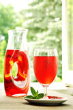 Cranberry juice cocktail Stock Photos