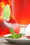 Cranberry juice cocktail royalty free stock image