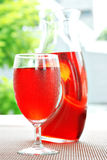 Cranberry juice cocktail Stock Image