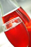 Cranberry juice cocktail stock photography