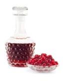 Cranberry juice Stock Photography