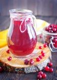 Cranberry juice Stock Photos