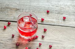 Cranberry juice Stock Photo