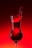 Cranberry liquor Stock Images