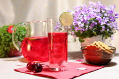 Cranberry mors drink Stock Photo