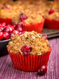Cranberry Muffin Stock Photos