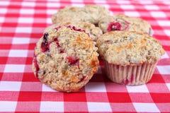 cranberry muffins Zdjęcia Royalty Free