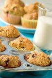 Cranberry muffins Stock Photo
