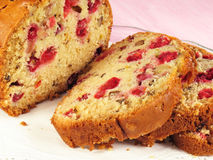 Cranberry Nut Bread Royalty Free Stock Photo