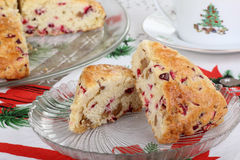 Cranberry Nut Scones Stock Images