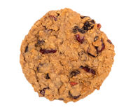 Cranberry oatmeal rodzynki ciastko Obraz Royalty Free