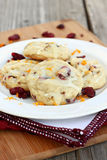Cranberry Orange Cookies Royalty Free Stock Images