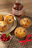 Cranberry Orange Muffins Royalty Free Stock Photo