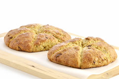 Cranberry orange scones Royalty Free Stock Images
