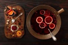Cranberry poncz Zdjęcia Stock