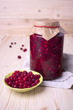Cranberry-prepared for long-term storage Stock Photography