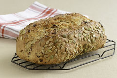 Cranberry Pumpkin Seed Bread Royalty Free Stock Photography