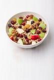 Cranberry raisins apple cereal Stock Photos