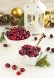Cranberry sauce Royalty Free Stock Photos