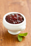 Cranberry sauce Stock Image