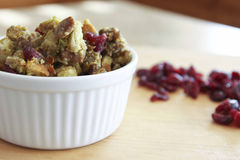 Cranberry Sausage Stuffing Royalty Free Stock Photography