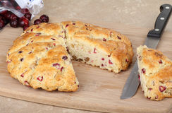 Cranberry Scone Stock Photo
