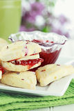 Cranberry Scones Royalty Free Stock Image