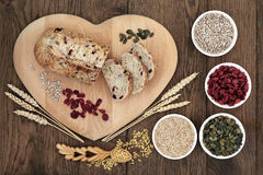 Cranberry Seed Bread Stock Photos