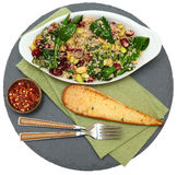 Cranberry Spinach Quinoa Salad Royalty Free Stock Image