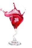 Cranberry splash Royalty Free Stock Photo
