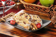 Cranberry stollen Stock Images