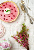 Cranberry tart Royalty Free Stock Image