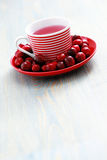 Cranberry tea Royalty Free Stock Images