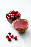 Cranberry tea Royalty Free Stock Photo