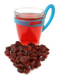 Cranberry tea Stock Photos