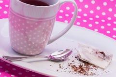 Cranberry tea bag Royalty Free Stock Photos