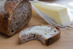 Cranberry Walnut Bread Royalty Free Stock Images