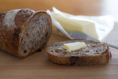 Cranberry Walnut Bread Royalty Free Stock Photo