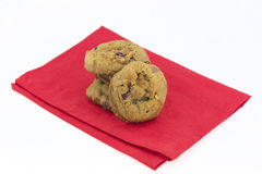 Cranberry walnut cookies Stock Photography