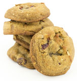 Cranberry walnut cookies Royalty Free Stock Photography